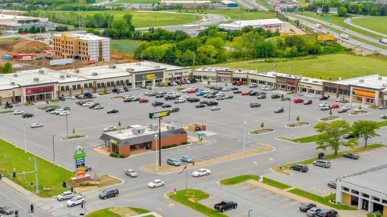 Belton Texas Corners Shopping Center