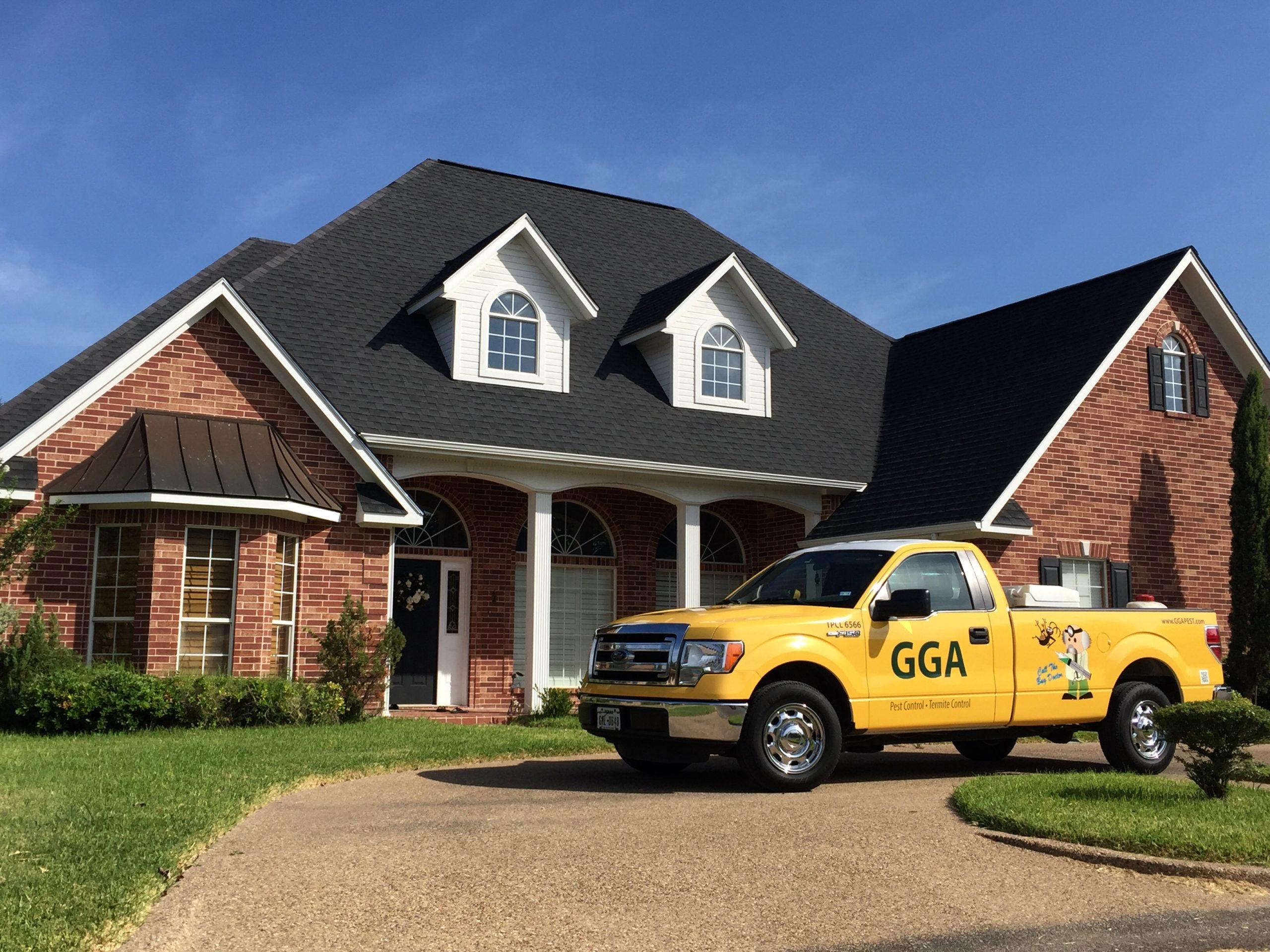 Texas GGA pest control management Vehicle home service