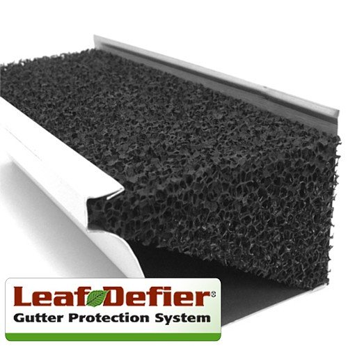 gutter protection leaf defier image