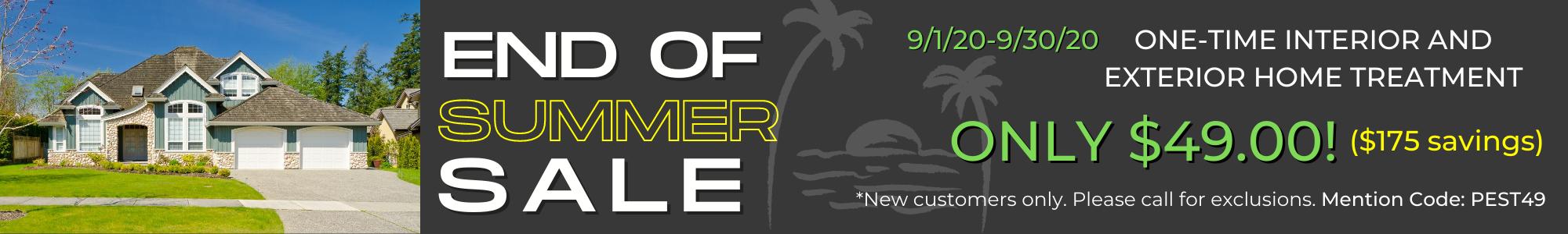September Sale Website Banner