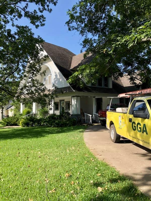gga pest management historic texas home