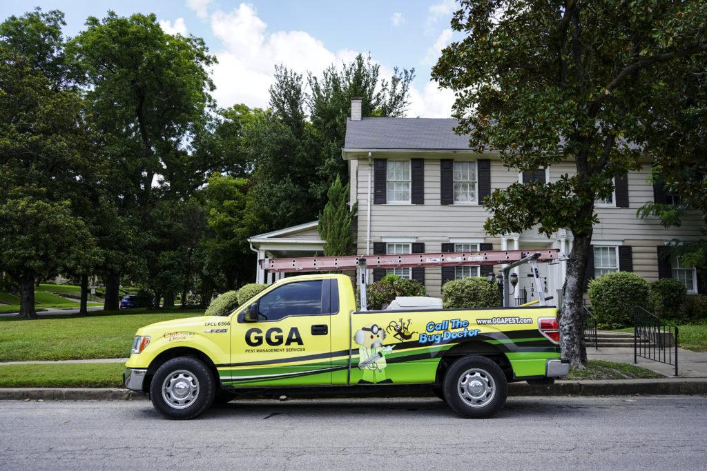gga pest management truck